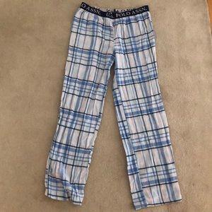 polo pajama pants size medium